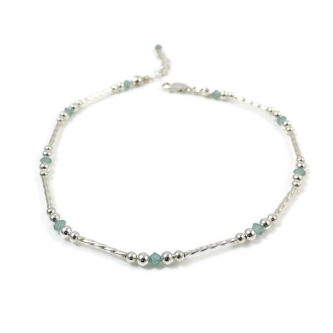 Pacific Opal Anklet Collection