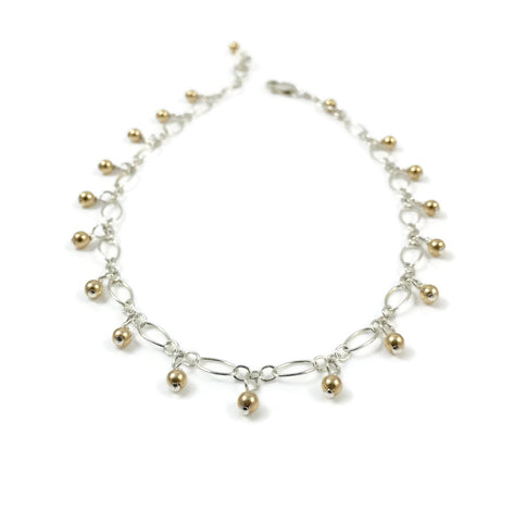 Silver & Gold Anklet Collection
