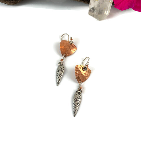 Earrings Mixed Metals