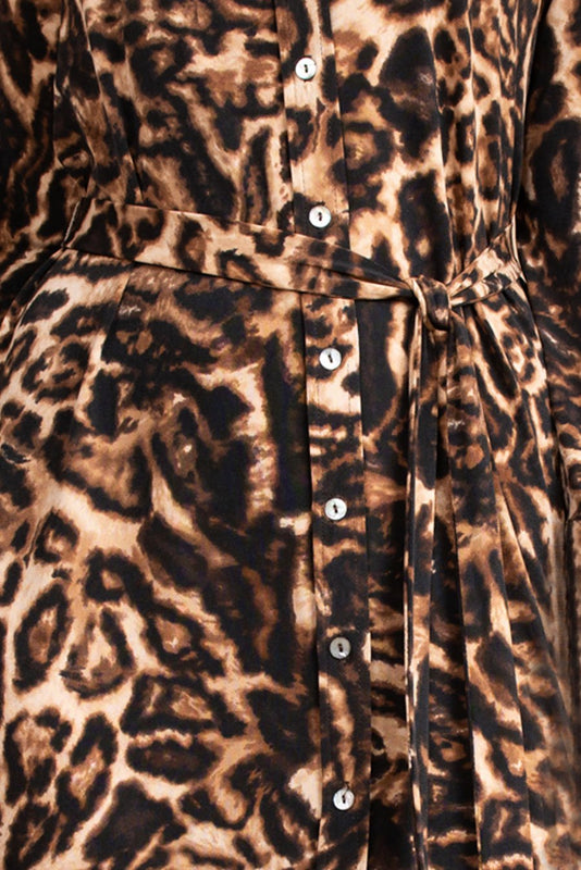 Leopard Midi Dress by Uncle Frank