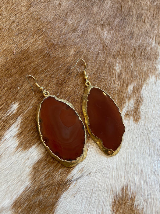 Wimberly Geode Earrings