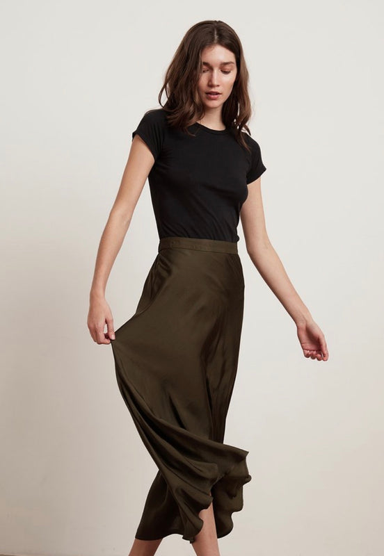 Calissa Midi Skirt by Velvet
