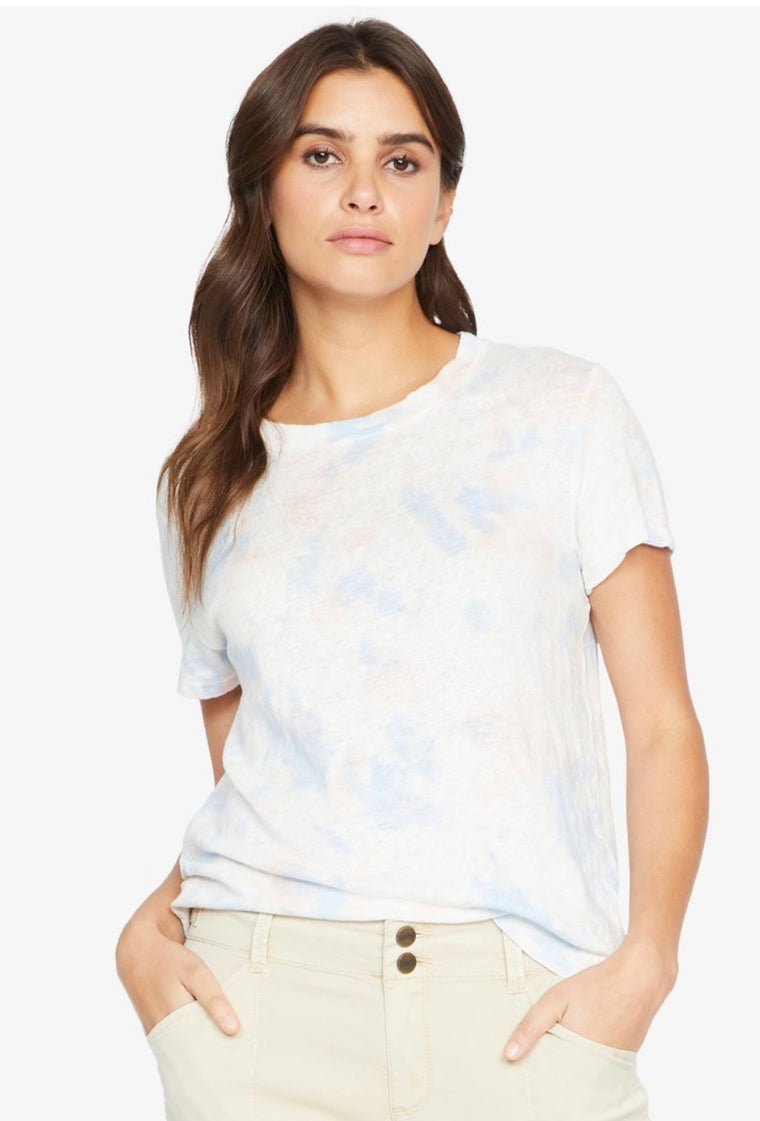 Perfect Wash Tee in Blue Cloud
