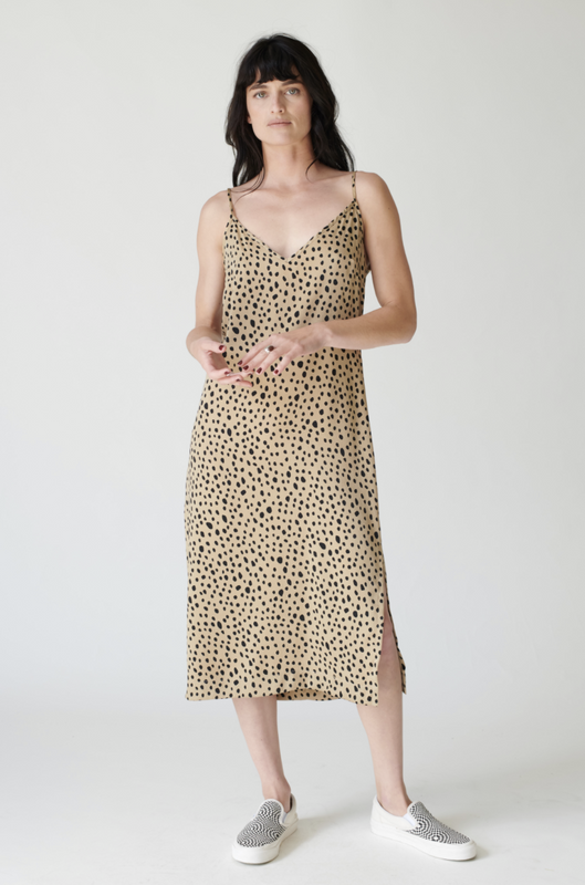 Leopard Slip Dress by Stateside