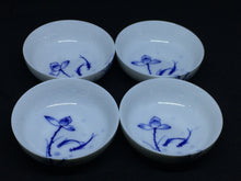 Blue and White Hand-painted Jingdezhen Tea Cups