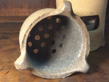 Charcoal Stove and Side-handle Pot w/ Cast Iron Insert