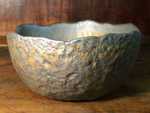 Gold Ash Wash Bowl - Waste Bowl