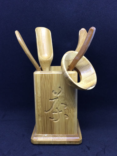 Bamboo Tea Tool Set (6-piece)