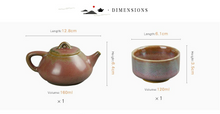 Jun Kiln 5-piece Set - Shi Piao Pot
