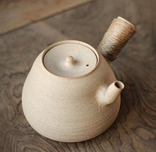 Chaozhou Clay Side Handle Water Boiling Pot