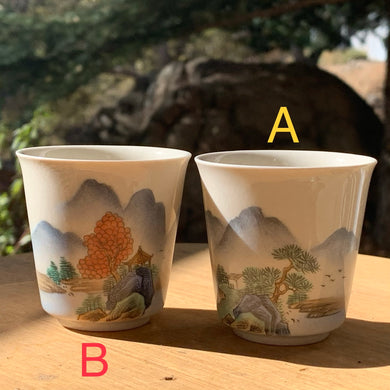 50mL Jingdezhen Hand painted Teacup