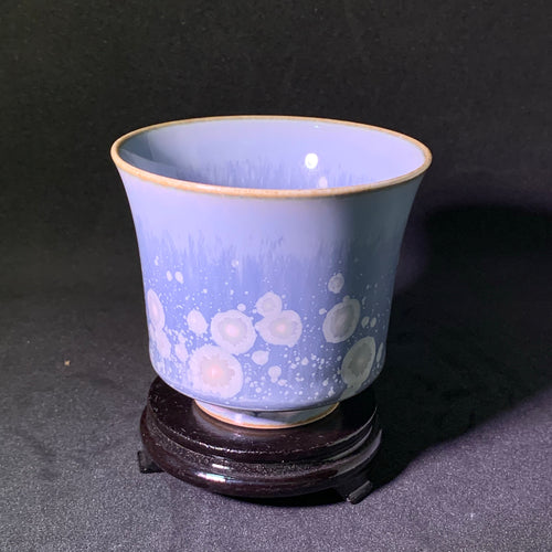 Tall Fluted Soda-fired Teacup
