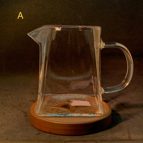 Glass Gong Dao Bei / Cha Hai (Fairness Pitcher)