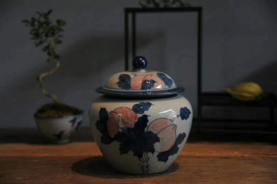Jingdezhen Tea Caddy