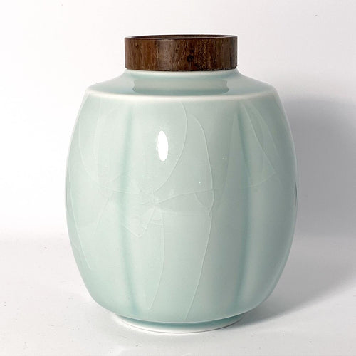 Porcelain Tea Caddy
