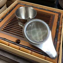 Stainless Steel Tea Strainer w/ stand