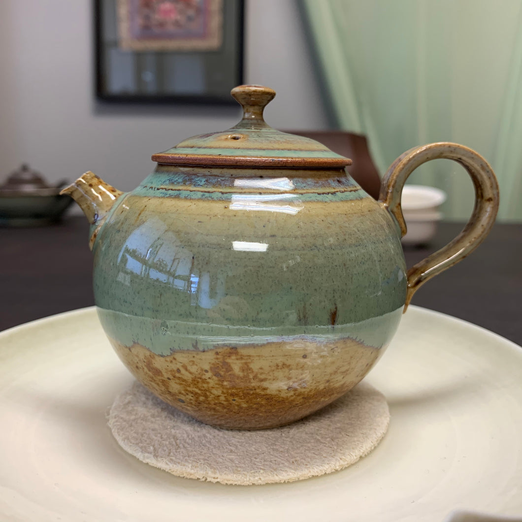 Ceramic Glazed Teapot 140mL