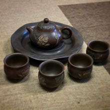 Nixing Lotus Carved Teaset