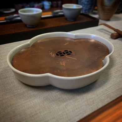 Lucid Tea Tray with Copper