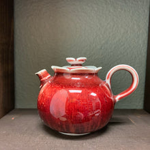 160mL Soda Fired Pomegranate Teapot