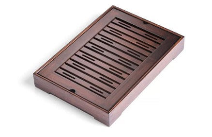 Small Three Strand Bamboo Tea Tray