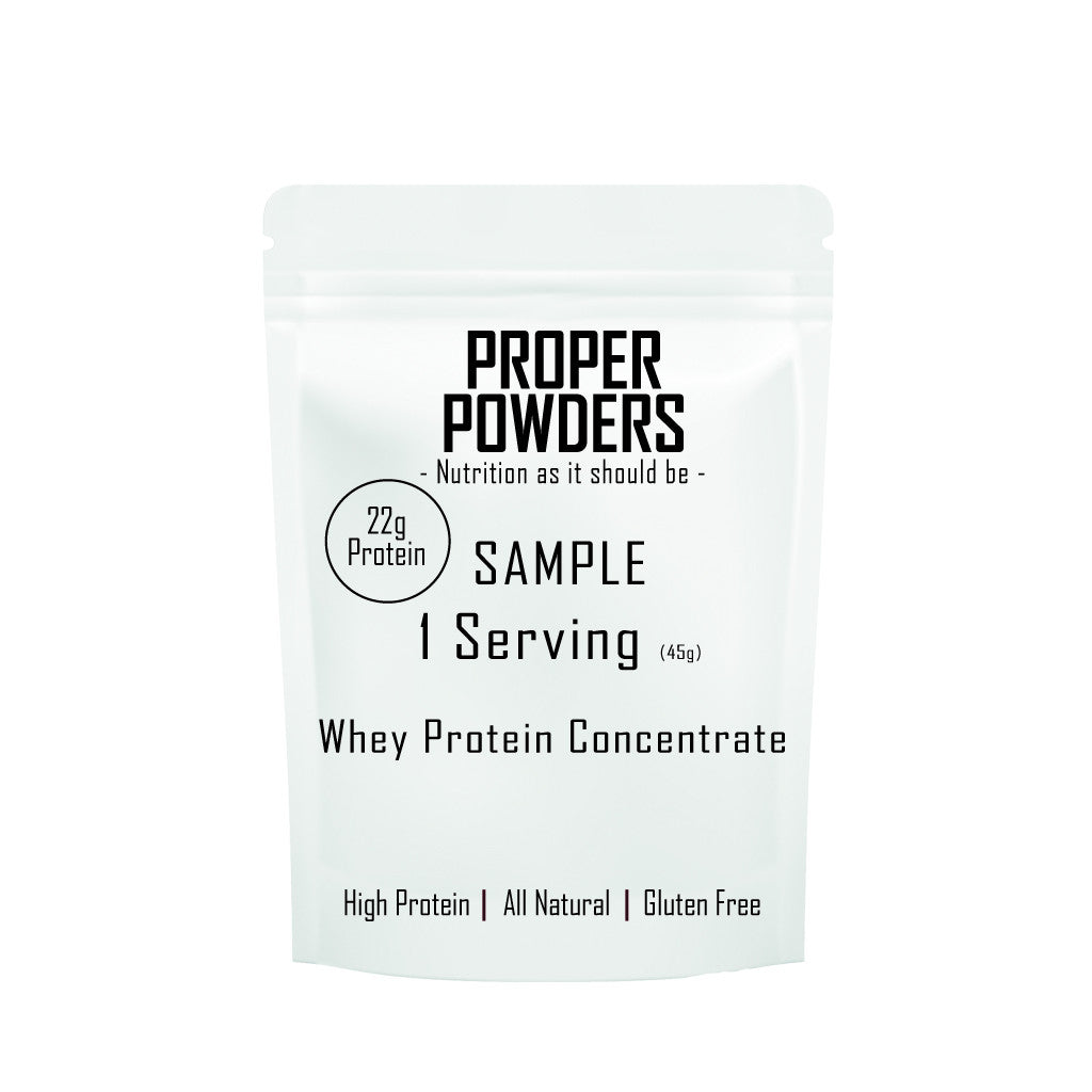 Sample Whey Protein - Various flavours