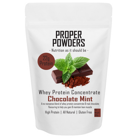 Whey Protein - Chocolate mint