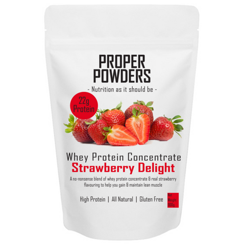 Whey Protein - Strawberry Delight