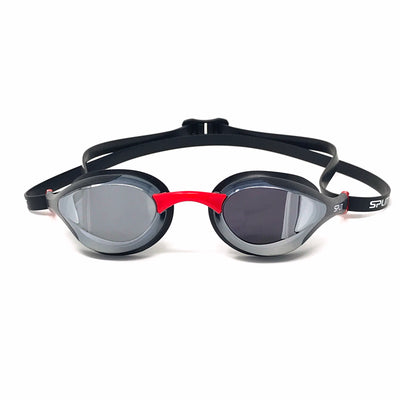 FLUIDIX Racing Goggles - Black w/Mirror lens