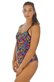 Safari - Women's Skinny Strap One-Piece