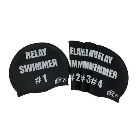 Never Forget Your Relay Order (4 PACK) - Silicone Swim Caps