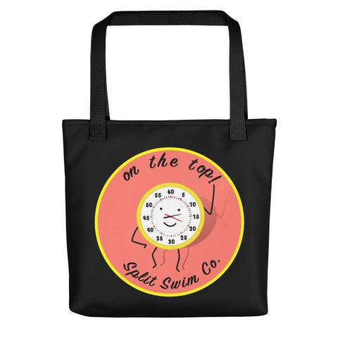 On The Top Tote Bag - Black