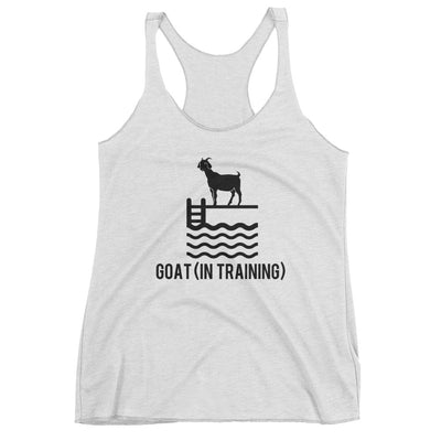 Greatest of All Time - Ladies' Racerback Tank