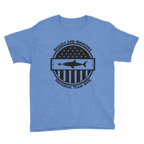 Sharks and Minnows National Team - Youth T-Shirt