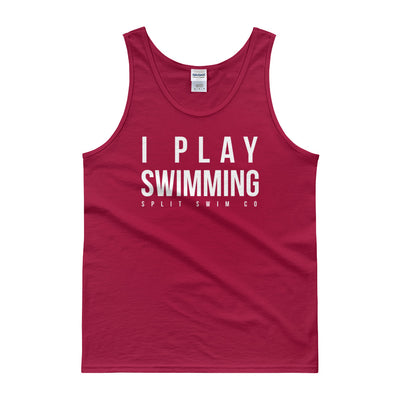 I Play Swimming - Men's Tank