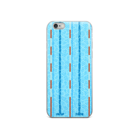 Swim Lanes - iPhone Case (Select your model)