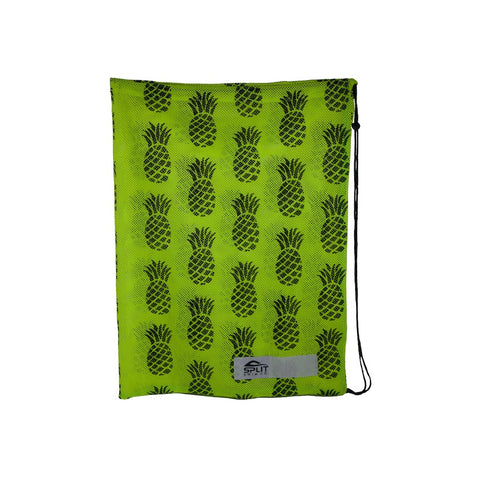 Pineapples Mesh Equipment Bag - Neon Green