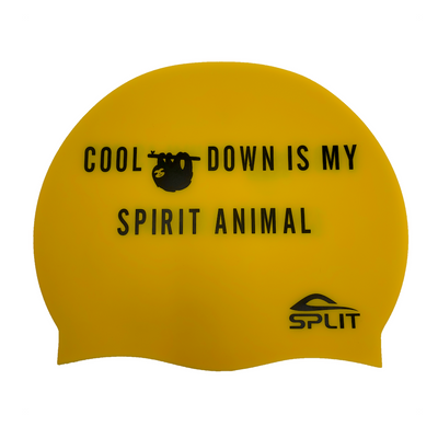 Cool Down Is My Spirit Animal - Silicone Swim Cap