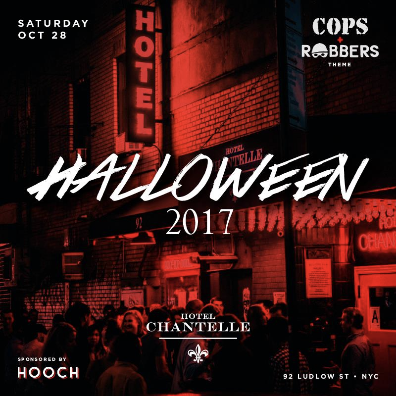 Halloween at Hotel Chantelle 2017