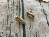 Rose Quartz Specimen Earrings
