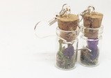 Amethyst Specimen Earrings