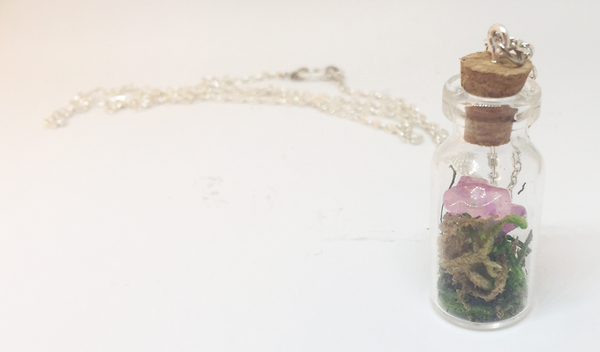 Rose Quartz Specimen Necklace