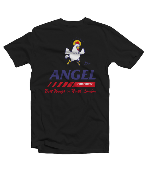 Angel Chicken Shop Men's T-Shirt