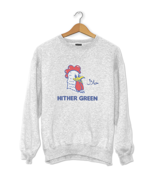 Hither Green Chicken Shop Sweater