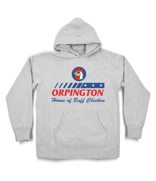 Orpington Chicken Shop Hoody
