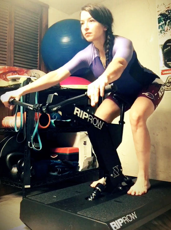 Fairlee Frey 12-week build to XCE worlds: Week 2