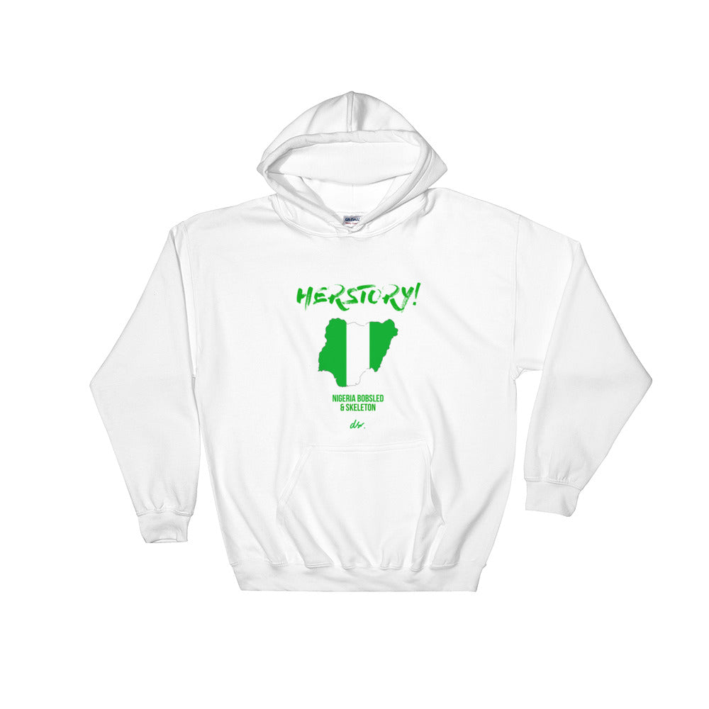 """HERSTORY"" NGR Bobsled and Skeleton Hooded Sweatshirt (unisex)"