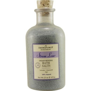 Stress Less Ocean Mineral Bath Salts 23 Oz Blend Of Lavender, Chamomile, And Sage By Aromafloria - Perfume N Mor