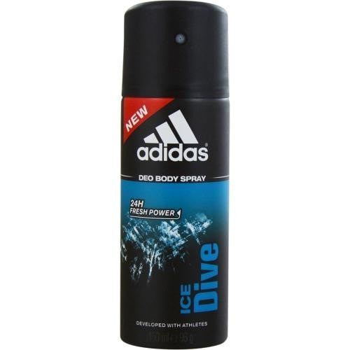 Adidas Ice Dive By Adidas 24h Deodorant Body Spray 5 Oz (developed With Athletes) - Perfume N Mor