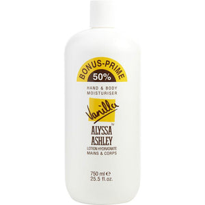 Alyssa Ashley Vanilla By Alyssa Ashley Hand And Body Lotion 25.5 Oz